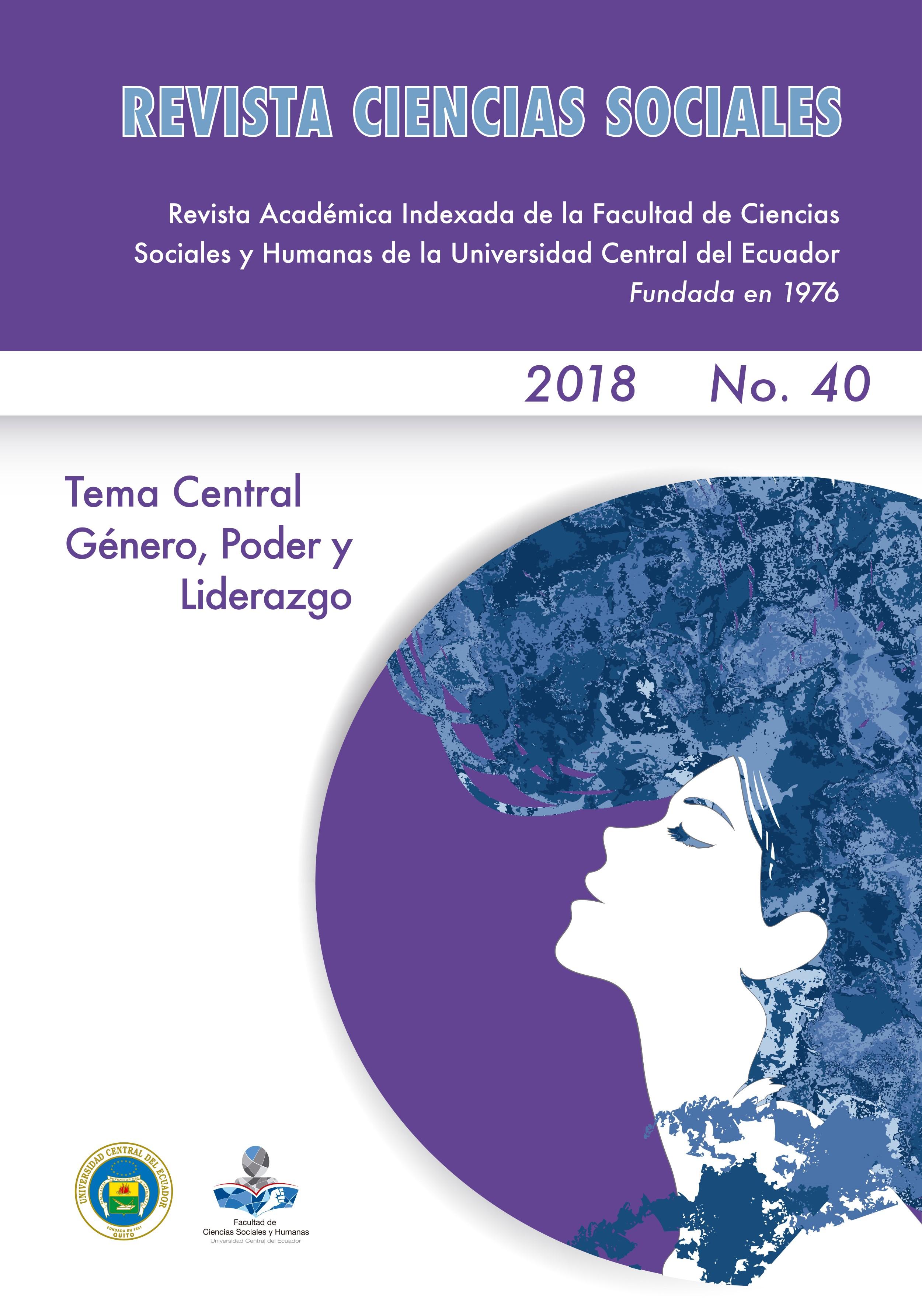 Ver Vol. 1 Núm. 40 (2018): Género, poder y liderazgo