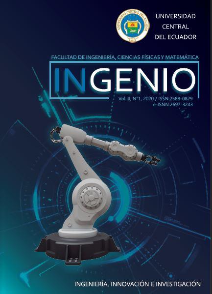 Ver Vol. 3 Núm. 1 (2020): INGENIO, Revista de la Facultad de Ingeniería, Ciencias Físicas y Matemática