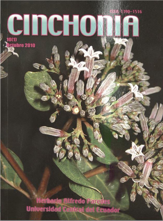 Ver Vol. 10 Núm. 1 (2010): CINCHONIA